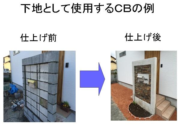 下地ブロックの例