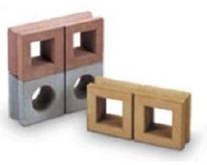 穴あき化粧ブロック
