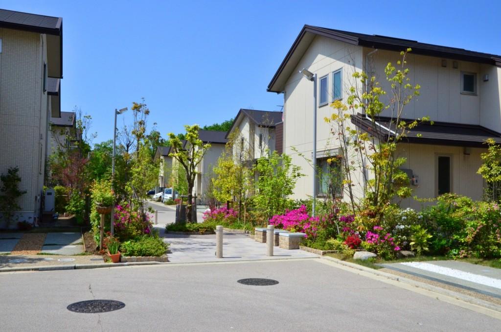 緑ある住宅街